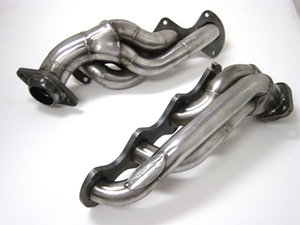 JBA Hedders, 1 5/8 shorty stainless, 04-10 Ford F150 5.4