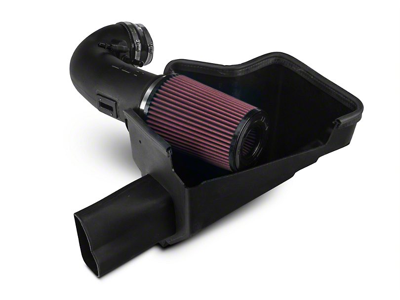 JLT Black Textured Plastic Cold Air Intake Kit, 2016+ GT350 , Tuning Required