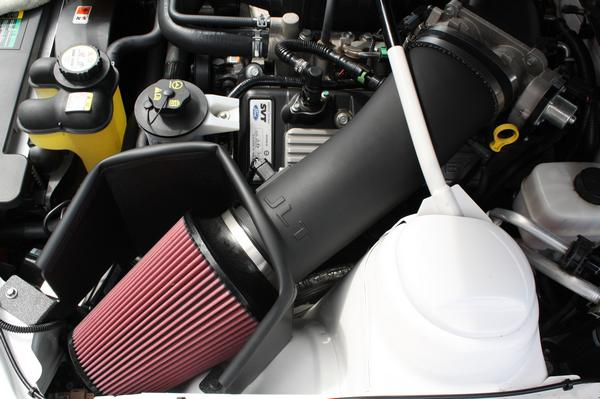 JLT Black Textured Plastic BIG Air Intake,2007-09 GT500, Tuning Required