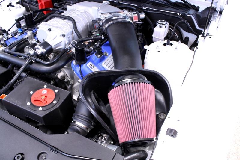 JLT Black OEM textured Plastic finish BIG Air Intake, 2010-14 GT500