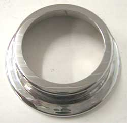 Chrome Radiator Cap Cover, 1979-95 Mustang