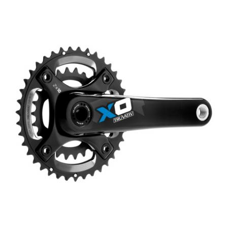 SRAM XO 2x10 BB30 Crankset , 26/39 or 28/42, 175mm,