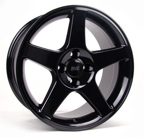 SVE 03 Cobra Wheels black, 17x9, 4 bolt