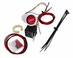 LRS Start button kit, 2005-09 Mustang