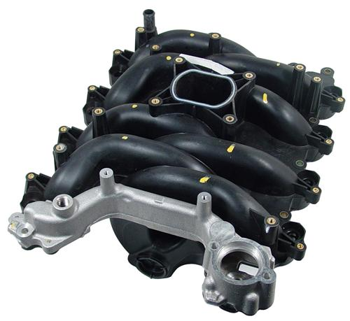 Ford 4.6 2V intake with aluminum crossover, 96-98 Mustang