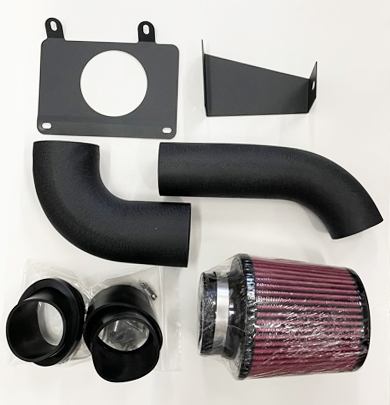 LRS Cold Air intake kit, Black, 1986-93 Mustang with mass air