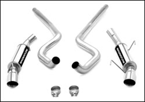 Magnaflow Magnapack 3 exhaust system, 2005-09 Mustang GT and GT500