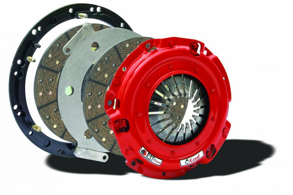 Mcleod RST Dual Disc clutch, 11 4.6, 01-10 Mustang and Cobra 10 spline