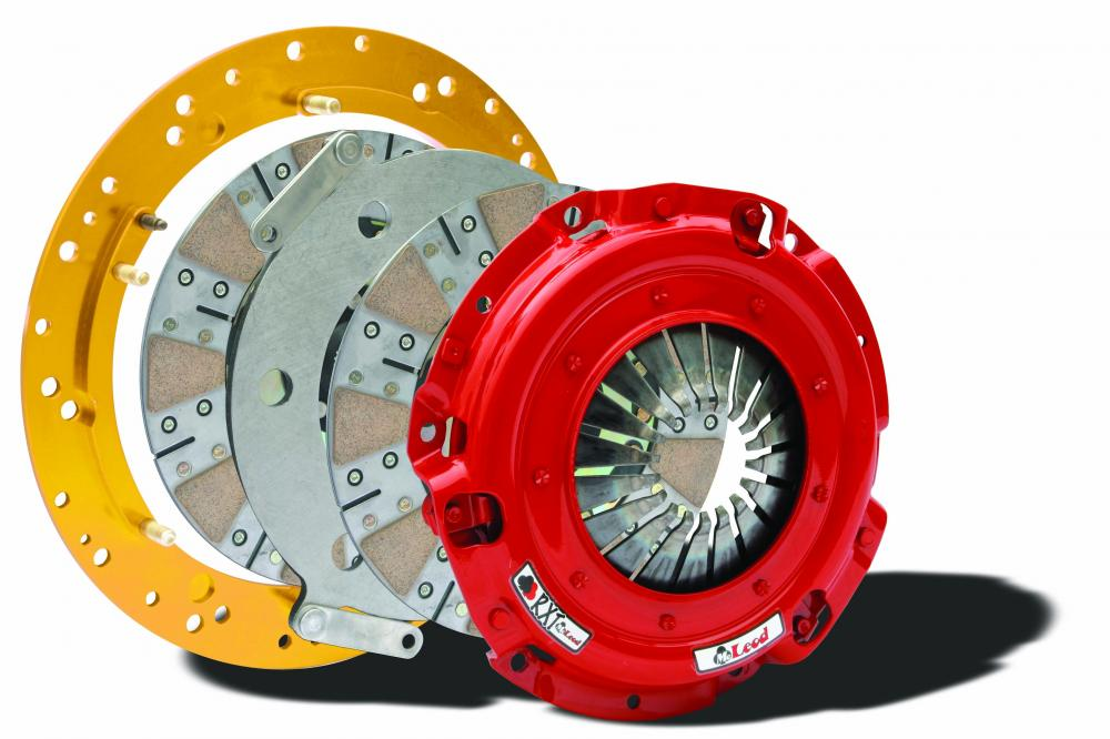 Mcleod RXT Dual Disc Clutch, 10.5 5.0 and 4.6 Mustang 26 spline