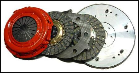 Mcleod RXT Dual Disc Clutch and Flywheel, 2007-09 GT500