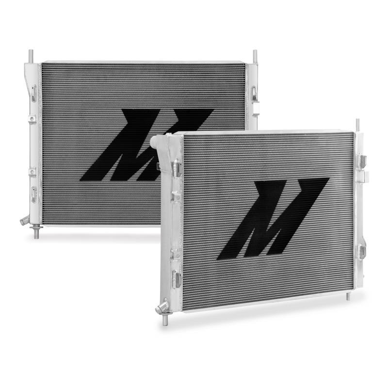 Mishimoto Aluminum Radiator, 2015+ Mustang Manual