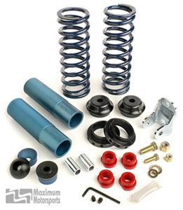 Maximum Motorsports Rear coil over kit w/springs, Koni, 1979-93 Mustang