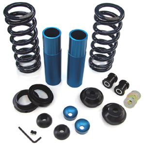 Maximum Motorsports Rear coil over kit,w/springs, for Koni shock, 99-04 IRS