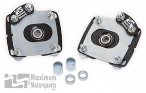 Maximum Motorsports Caster / Camber plates, 2011-14 Mustang GT and V6