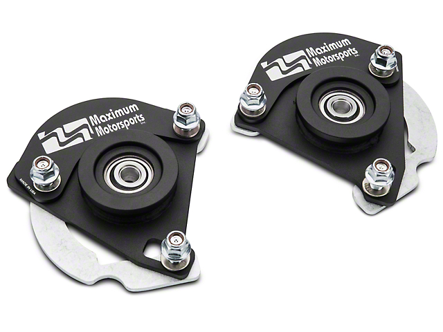 Maximum Motorsports Caster / Camber plates, 2015+ Mustang