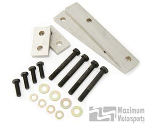 Maximum Motorsports K-member spacers with bolts, 1/2