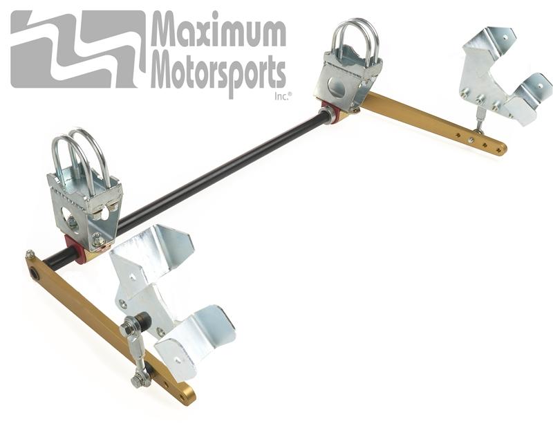 Maximum Motorsports Adjustable Rear Swaybar, 79-04 Mustang