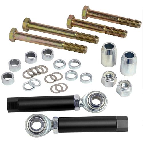 Maximum Motorsports Bump steer kit, bolt through, 1994-04 Mustang