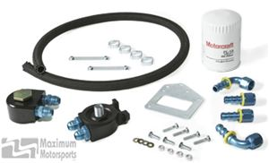 Maximum Motorsports Oil filter relocation kit, standard, 1999-02 mod. Engine