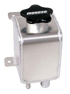 Moroso Power Steering Resevoir, aluminum, 1996-04 Mustang