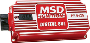 MSD Digital 6AL ignition box with rev limiter