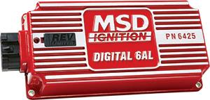 MSD Digital 6AL ignition box with rev limiter