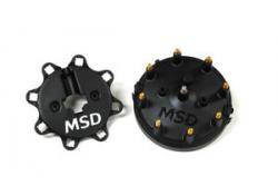 MSD Distributor Cap, black, Ford and MSD Distributor