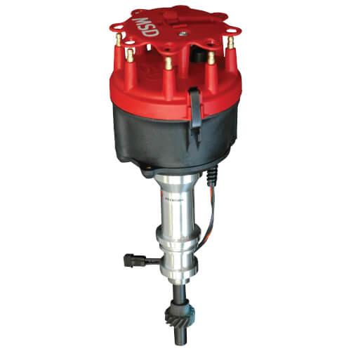 MSD Billet Distributor, 289/302/5.0 steel gear roller cam