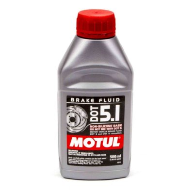Motul DOT 5.1 Brake fluid, Synthetic non-silicone, 500ml