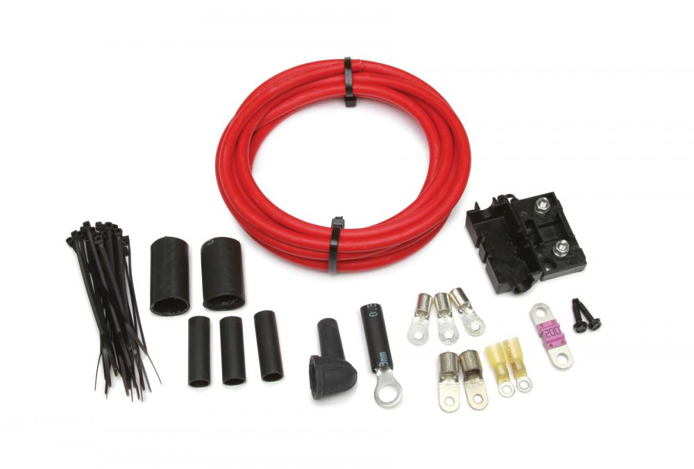 Painless Alternator wiring kit with 200amp fuse, 10\'