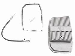 Performance Automatic Deep aluminum pan and dipstick kit, 2011-14 Mustang