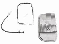 Performance Automatic Deep aluminum pan and dipstick kit, 2011-14 Mustang