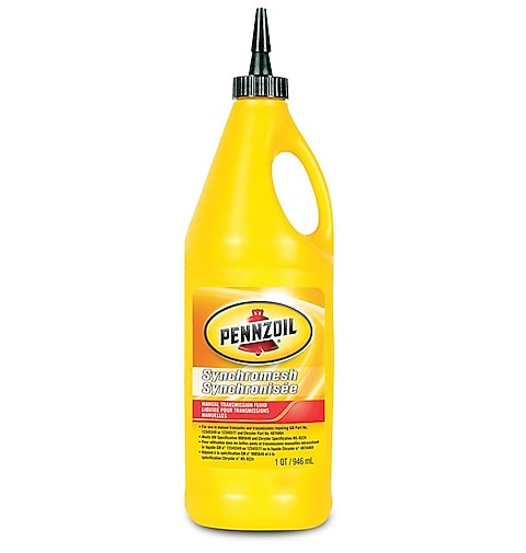 Pennzoil Synchromesh manual transmission fluid