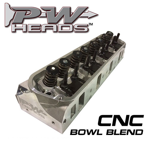 PFW 175cc Aluminum Heads (pair), CNC Ported, 2.02/1.60 Hyd Roller, SB Ford