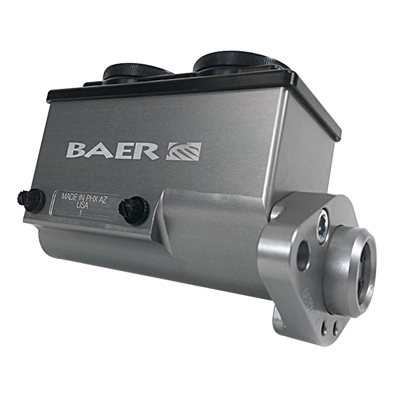 Baer ReMaster Master Cyl Assembly, gray anodized,1-1/8 bore,right port