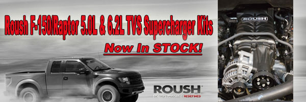Roush Performance Parts New F-150 and Raptor TVS Supercharger Kits at Western Motorsports