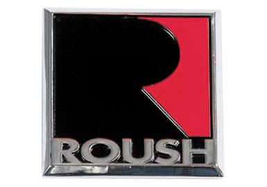 Roush Square Diecast Fender Badge