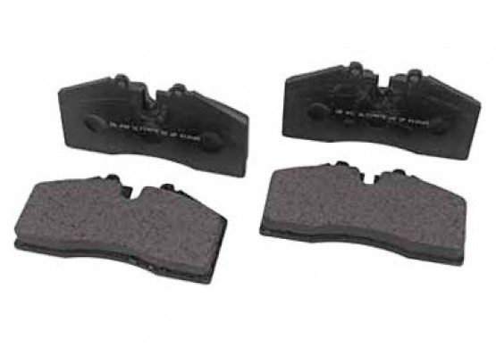 Roush Brake Pads, Front w/ ROUSH 4 Piston Calipers, 2005-2014 Mustang