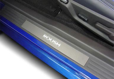 Roush Sill Plates, Pair, Aluminum, 2005-2013 Mustang 4.0/4.6L
