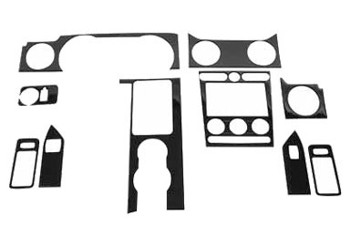 Roush Interior Trim Kit, Carbon Fiber, Automatic Transmission, 2005-2009 Mustan