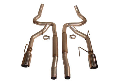 Roush Extreme Cat-Back exhaust, 2005-2009 Mustang GT / GT500