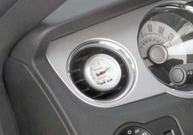 Roush Gauge Pod for Vents, 2010+ Mustang