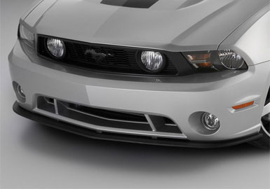 Roush front splitter for Roush front fascia, 2010+ Mustang