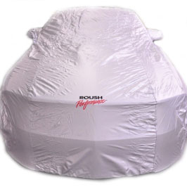 Roush Car Cover, Silvergaurd indoor fabric, 2010-2014 Mustang