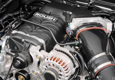 Roush R2300 TVS supercharger kit, Phase 2, 550 hp, 2005-09 Mustang