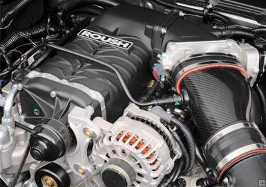 Roush R2300 TVS supercharger kit, 550hp Dual Belt, 2005-09 Mustang GT