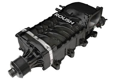 Roush ROUSHcharger Kit, Single Belt Phase 1 R2300, 2010 Mustang 4.6L