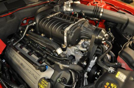 WMS Roush Installed Supercharger package, 575 HP, 2011-14 Mustang GT