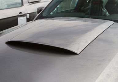 Roush Hood Scoop Kit, Unpainted, 2013 Mustang 3.7/5.0L