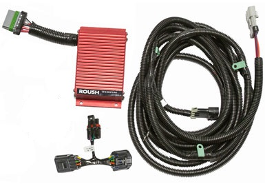 Roush Fuel pump voltage regulator booster, 2011+ Mustang 5.0